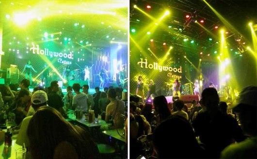 Asian backpacker - Pattaya Hollywood club