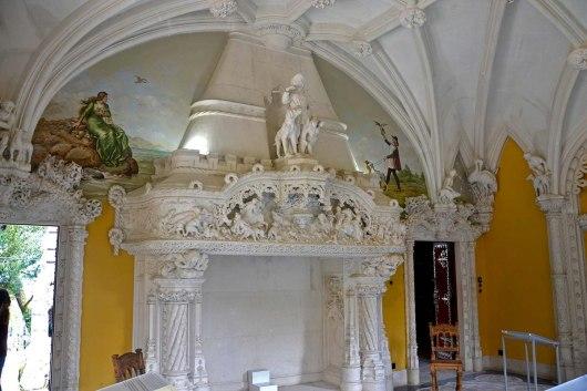 Asian backpacker - Sintra - Quinta da Regaleira main house
